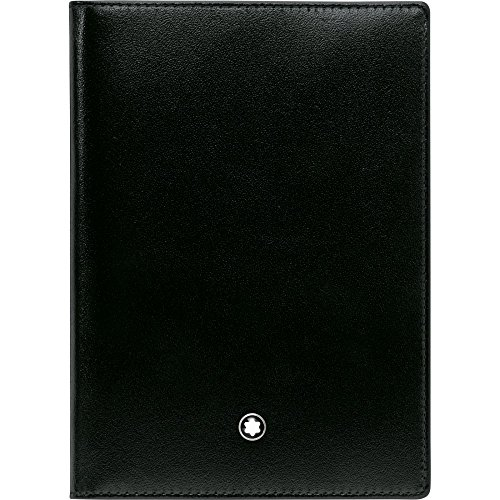 Montblanc International Passport Holder in Glossy Black Leather by MONTBLANC (Image #2)