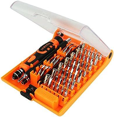 52 en 1 destornillador de precisión conjunto de herramientas con puntas de destornillador multifuncional, herramienta de reparación electrónica kit ...