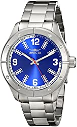 Invicta Men's 17926SYB Specialty Analog Display Japanese Quartz Silver Watch