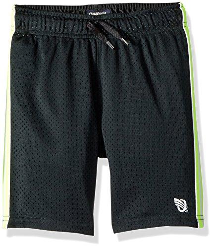 Osh Kosh Boys' Kids Mesh Shorts, Black Neon, 4-5