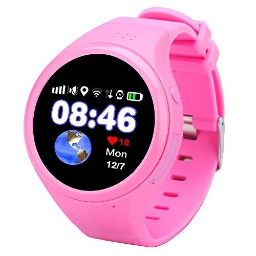 Etbotu Children Sports Waterproof Watch, Unisex, with Wifi GPS Phone Calendar Alarm Pedometer Chronograph Digital by Etbotu