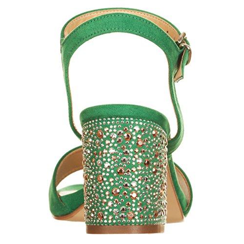 EU pour Vert VialeScarpe Femme Vert Vert Sandales 39 xU1xqOPYA