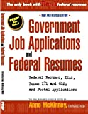 img - for Government Job Applications and Federal Resumes book / textbook / text book