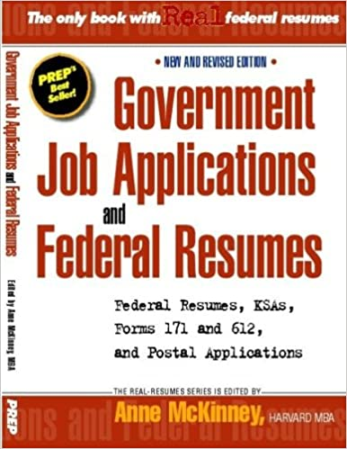 resumes for government jobs