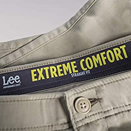 LEE Men's Big & Tall Performance Series Extreme Comfort Pant