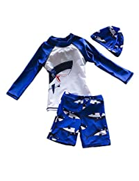 Yober Baby Boys Rash Guards Swimsuit Swimwear
