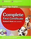 Complete First Certificate Student's Book with answers with CD-ROM: 0