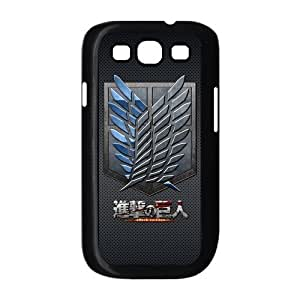 Fashion Attack on Titan Hard Shell Snap-on Slim Cover Case for Samsung Galaxy S3 i9300