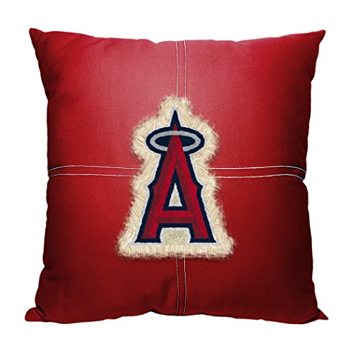 Officially Licensed MLB Los Angeles Angels Letterman Pillow, 18