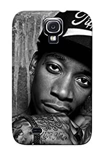 Hot Style BbWjAjb2309SaHbY Protective Case Cover For Galaxys4(wiz Khalifa ) For Thanksgiving Day's Gift