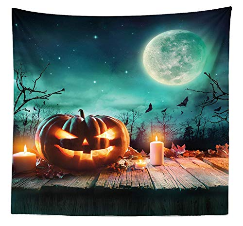 SODIKA Halloween Tapestry, Fantastic Magic Night Spooky Atmosphere