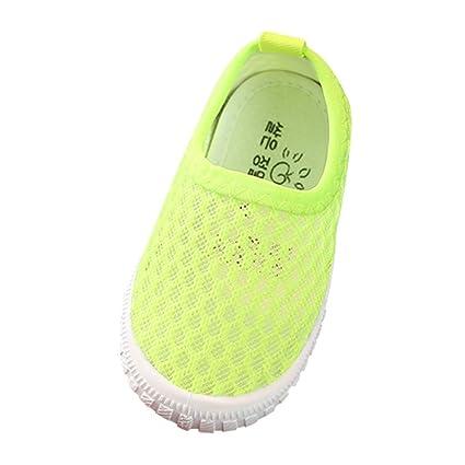ec4c799120e5f Amazon.com: Toponly Kids Sneaker Mesh Breathable Athletic Running ...