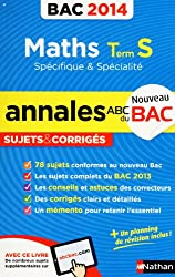 ANNALES BAC 2014 MATHS S SPE &