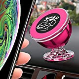 Stick it 360 Magnetic Car Mount - Car Accessories for Women - Pink Car Accessories 360 Degree Rotation from Dashboard - Universal Car Mount Magnetic Compatible with All Smartphone (Pink)