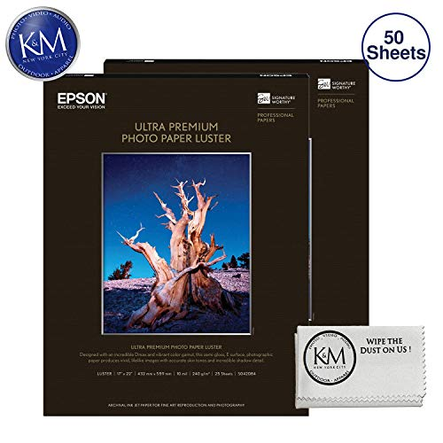 Photo Premium Luster Paper - Epson Ultra Premium Photo Paper Luster 17 x 22