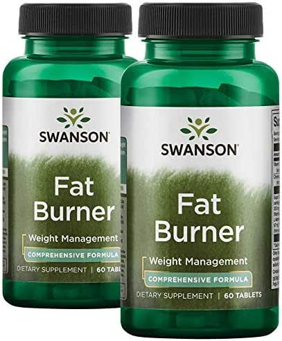 Swanson Fat Burner 120 Tabs 2 Bottles