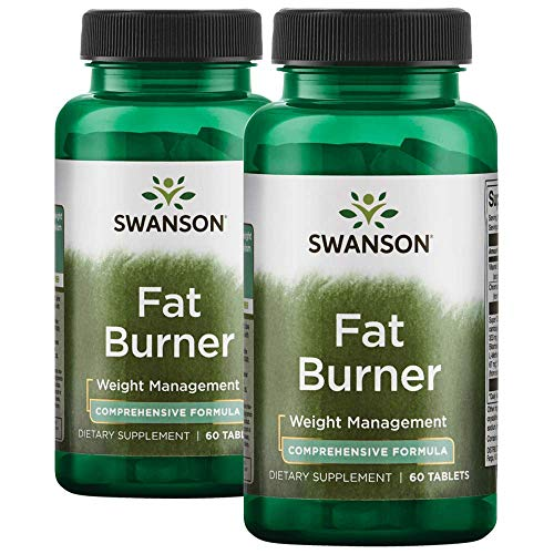 Swanson Fat Burner 120 Tabs 2 Bottles ()