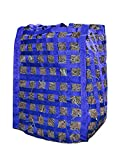 Derby Originals Natural Grazer Slow Feed Hay Bag Patented with Warranty, 18'' x 19'' x 26'', Royal Blue