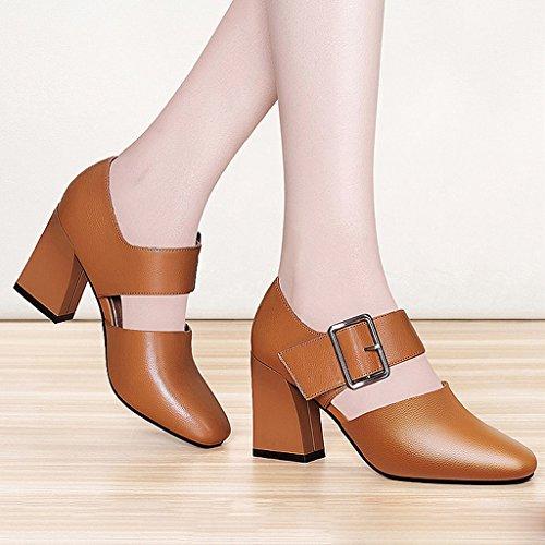und High Heels Schuhe Sandalen Frühling Damen Herbst Gezeiten FtZqpf