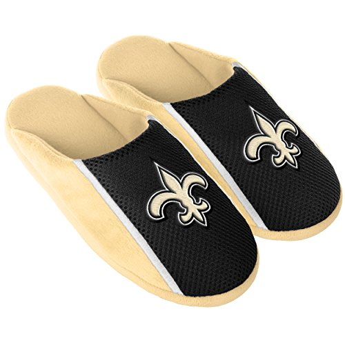 FOCO New Orleans Saints 2016 Jersey Slide Slipper Large by FOCO