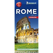 Michelin Rome City Map - Laminated