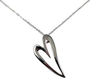 Elegant Heart Shaped Necklace, Heart Shaped Jewelry, Necklaces and Pendants