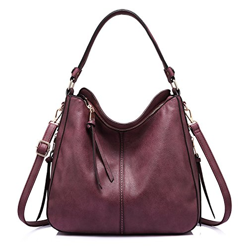 Shoulder Bags for Women Large Ladies Crossbody Bag with Tassel -