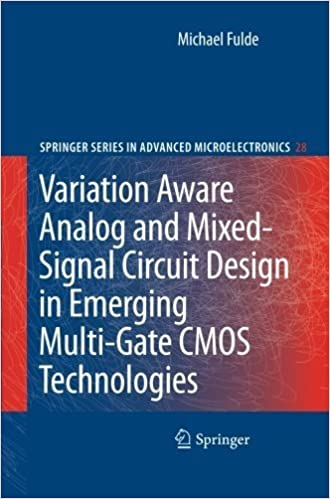 Book Variation Aware Analog and Mixed-Signal Circuit Design in Emerging Multi-Gate CMOS Technologies (Springer Series in Advanced Microelectronics) by Michael Fulde (2012-03-14)