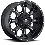 Fuel Krank 20x10 Black Wheel / Rim 8x170 with a -24mm Offset and a 125.20 Hub Bore. Partnumber D51720001745