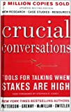 Crucial Conversations, Kerry Patterson, 1417664479