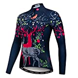 #8: Weimostar Women's Cycling Jersey Long Sleeve Bike Jacket Biking Shirt Bicycle Clothing