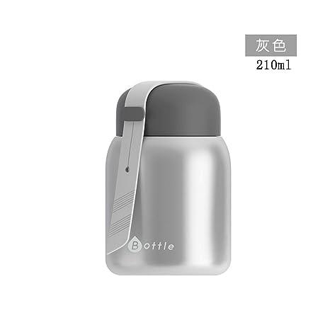 Amazon.com: Botella térmica de 200 ml con aislamiento ...