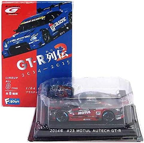【2】 エフトイズ 1/64 ニッサン GT-R列伝2 2014年 MOTUL AUTECH GT-R #23 単品