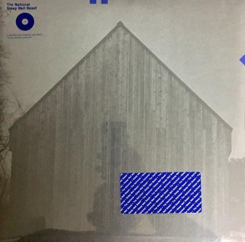 The National: Sleep Well Beast (Indie Exclusive Blue Colored Vinyl) Vinyl 2LP