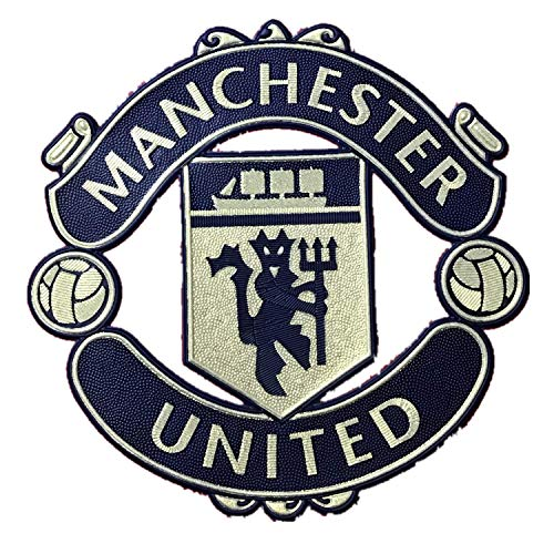 - Trafford2009MU Manchester United Red Devil MUFC 2018-19 Sports Champions Shirt Jersey Kit Football Soccer Iron On Patch Badge
