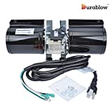 Durablow GFK-160 (w/ Power Cord ONLY) Fireplace Stove Blower Unit for Lennox, Superior, Heat N Glo, Hearth and Home, Quadra Fire, Regency, Royal, Jakel, Nordica, Rotom For Sale