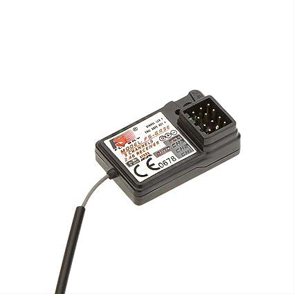 Flysky FS-GR3E Receiver 3CH 2.4Ghz Receiver for FS-GT2 FS-GT2B FS-GT3B FS-GT3C FZ-IT4S RC Car Boat Transmitter