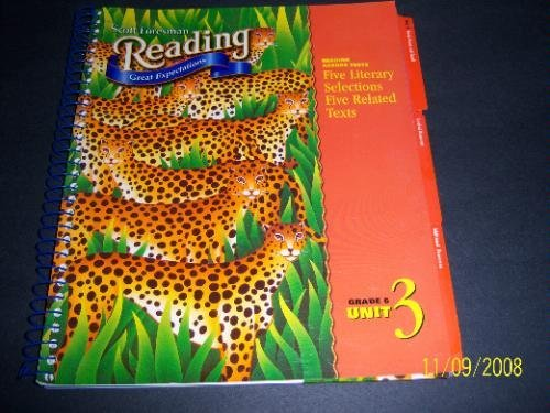 Read Online Teacher's Edition - Scott Foresman Reading: Great Expectations: Goals Great and Small, Grade 6, Unit 3 PDF