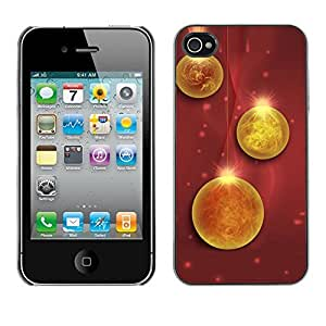 YOYO Slim PC / Aluminium Case Cover Armor Shell Portection //Christmas Holiday Decorations 1242 //Apple Iphone 4