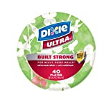 Dixie Ultra 6-7/8 Inches Plate, 40-Count (Pack of 3)