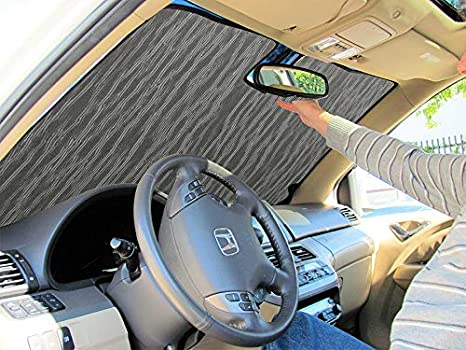 Good Intro-Tech BK-63-P Silver Sun Shade Custom Fit Premium Folding Windshield Sunshade for Select Buick Enclave Models