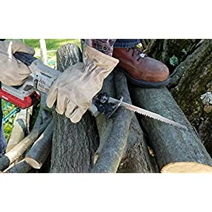 9-Inch Wood Pruning Reciprocating / Sawzall Saw Blades (5 TPI) - 5 Pack