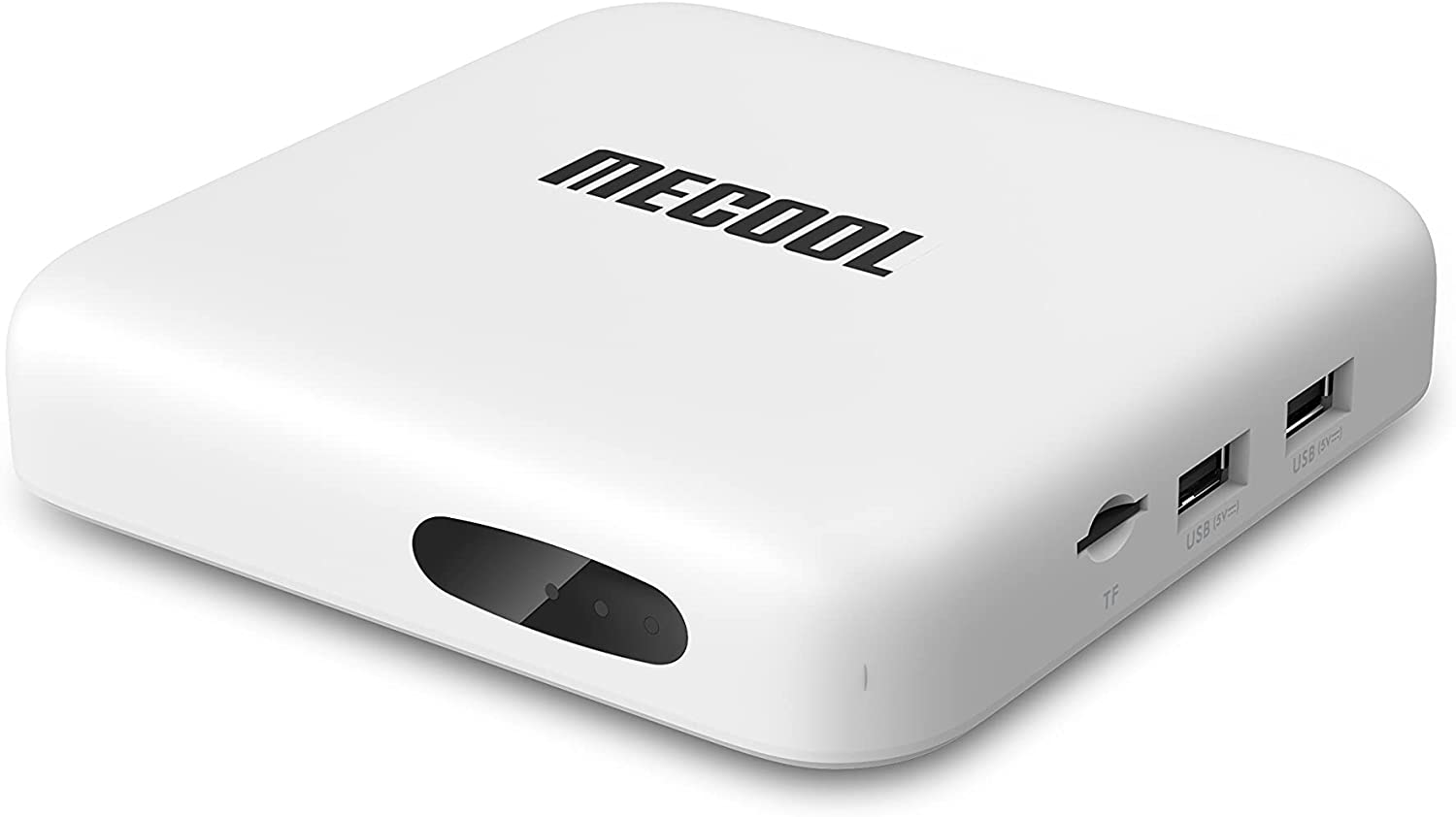 MECOOL KM2 Android TV Box 10.0 4K Video Box Streaming Media Player with Voice Remote Control