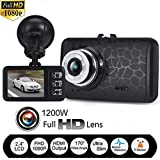 OVERMAL 1080P HD CAR DVR G-sensor IR Vehicle Video Camera Recorder Dash Cam