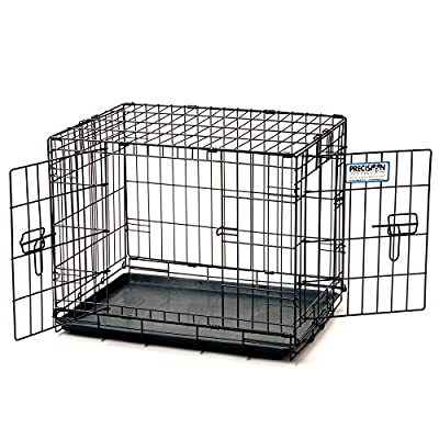 Precision Pet ProValu Double Door Dog Crate by Doskocil Manufacturing Co Inc