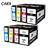Ink Choice Canon PGI-1200 XL BK/C/M/Y Compatible Pigment Ink Tank HY Replacement for Canon MAXIFY MB2320, MB2020 inkjet printer (8-Pack PGI-1200XL 2 Black, 2 Cyan, 2 Yellow, 2 Magenta )