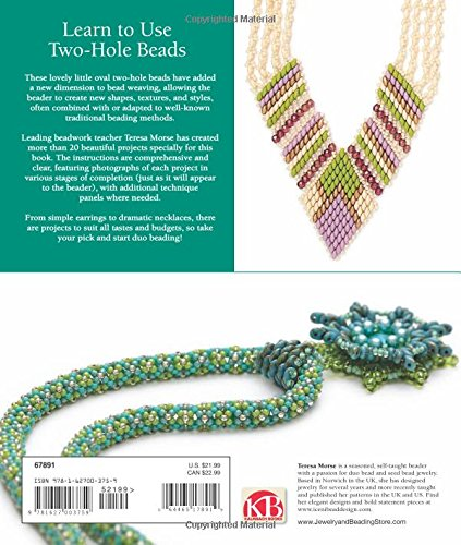 Learn To Use Two Hole Beads With 25 Fabulous Projects A Beginner S