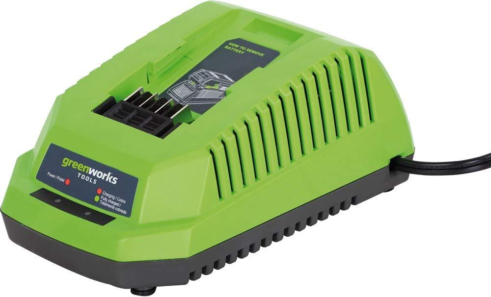 2005707VB Greenworks Tools Motosega a catena a batteria da 40 V caricatore batteria da 4 Ah