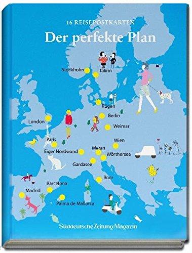 Der perfekte Plan: Postkartenset mit den besten Reisezielen aus dem SZ-Magazin