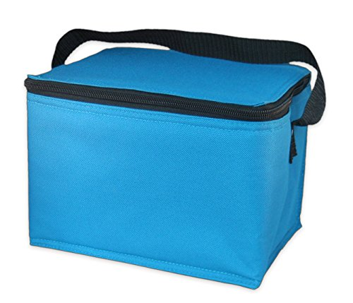 EasyLunchboxes Insulated Lunch Cooler Aqua product image